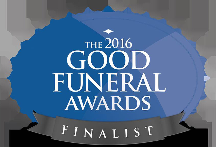 Good funeral finalist awards logo